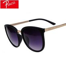 Psacss 2019 Retro Round Sunglasses Women Mne Brand Designer Womens Vintage Metal Sun Glasses Feamle Mirror gafas de sol UV400