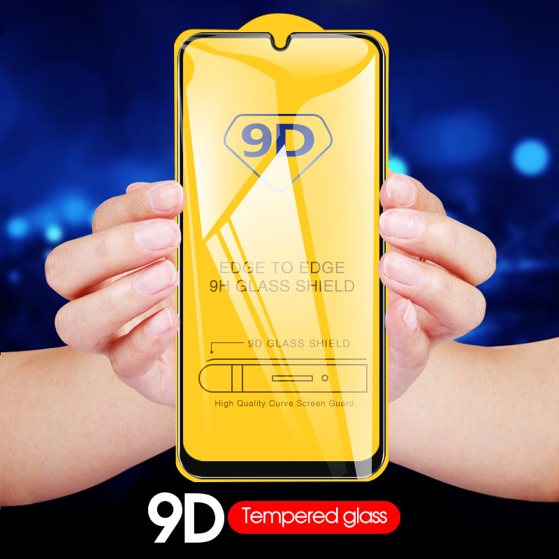 New 9D Curved Full Cover Tempered Glass For Samsung M20 A50 A30 M10 A10 M30 S10e Screen Protector A2 CORE A9 A8 Plus 2018 A20e