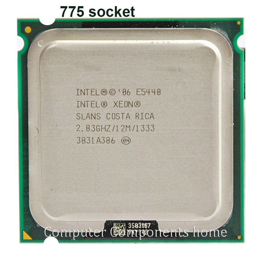 Intel Xeon E5440 Quad-Core Processor close to LGA775 CPU, works on LGA 775 mainboard image