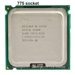 Intel Xeon E5440 dört çekirdekli İşlemci yakın LGA775 CPU, üzerinde çalışır LGA 775 anakart