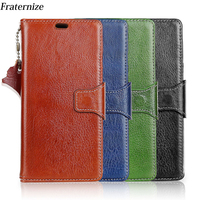 Oneplus 5t Case Genuine Leather Flip Wallet Stand Back Cover For Oneplus 5T Protective Bag Real