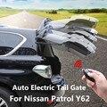 Авто Электрические задние ворота для Nissan Patrol Y62 2012-2019 умный индукционный пульт дистанционного управления Автомобильный задний подъемник