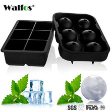 9ae9b2a09bc62 1 PCS Large Size 6 Cells Silicone Ice Ball Mold Ice Cube Ball Ice Tray Ball  Whiskey Manufacturer 6 Silicone Mold Maker For Bar P
