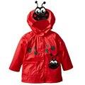 Crianças de varejo de moda hoodies Meninos & Meninas Capa De Chuva à prova de vento casacos jaquetas Crianças outerwear dot capa de chuva das Crianças