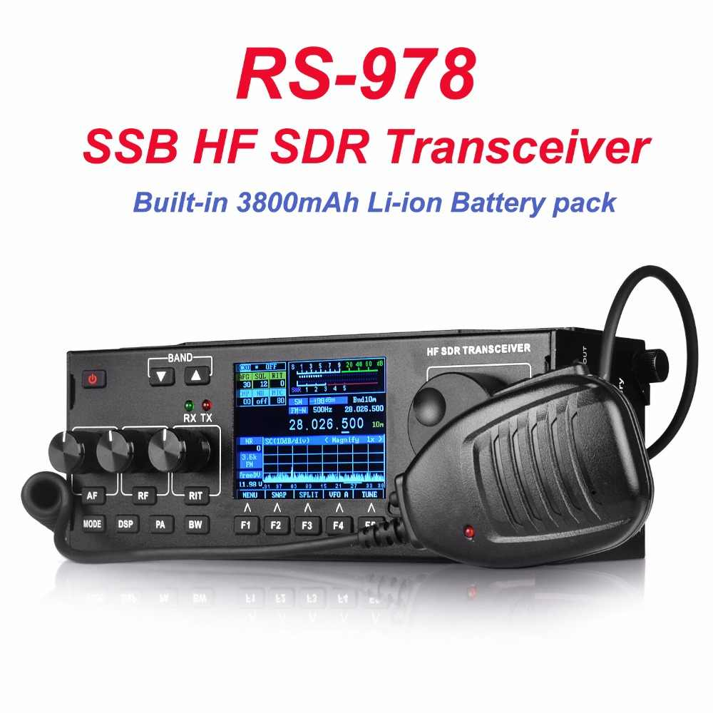 Detail Feedback Questions about RS 978 SSB hf SDR radio HF