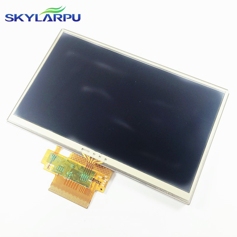skylarpu 5 inch For TomTom Tom Tom Start 25 GPS LCD display screen with touch screen digitizer panel free shipping original 4 3 inch for tomtom tom xl iq rates gps lcd display screen with touch screen digitizer panel free shipping