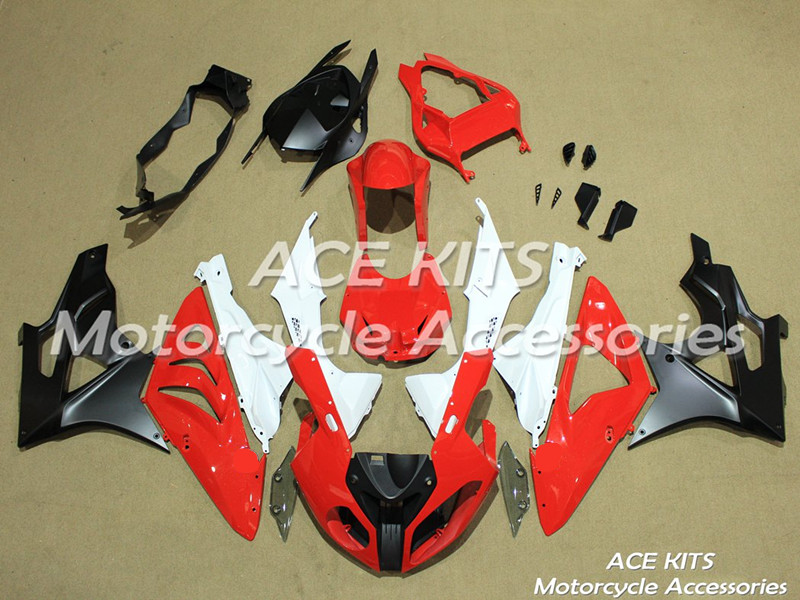 New ABS motorcycle Fairing For BMW S1000RR 2009 2010 2011 2012 2013 2014 Injection Bodywor All sorts of color No.370