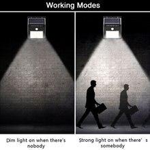 2 Pcs Led Solar Light Garden 20 LED Motion Sensor