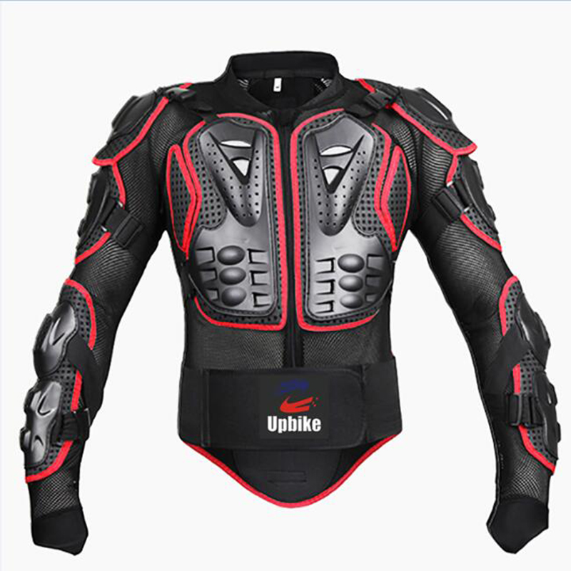 UPBIKE Motorcycle Jacket Armor Protection Motocross Clothing Protector Motorbike Moto Motor Bike Spine Chest Protector Gear 1
