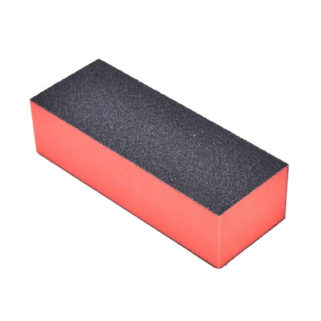 New 1Pc Sanding Sponge Nail File Buffer Block for UV Gel Nail Polish ...