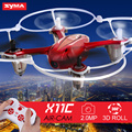 Syma X11C RC Helicopter 4CH 2.4GHz Mini Aircraft Quadcopter with 2.0MP Camera HD Brush Motor Drone White,Black,Red Colors