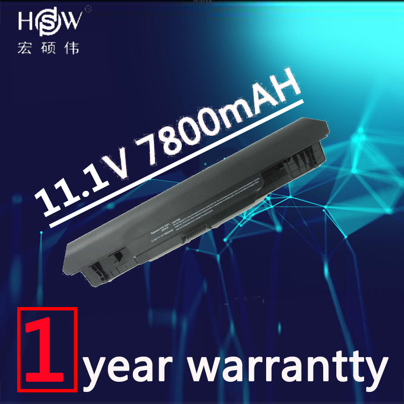 HSW 7800mAh 9 Cell Laptop battery for DELL Insprion 1564,JKVC5 for Inspiron 14 (1464) 15 (1564) 17 (1764) bateria akku new for dell inspiron 1464 1564 1764 n4010 fan