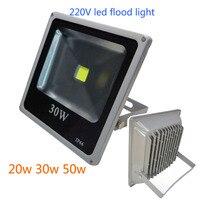 5pcs/lot ultrathin led flood light 10w 20w 30w 50w Dimmable Driverless led flood light 220~265V LED lamp led outdoor lighting
