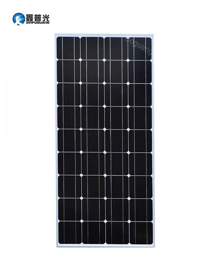 Xinpuguang 100 w Panneau Solaire Chargeur Batterie Cellulaire Bricolage 18 v De Silicium Solaire Module Léger Étang Pompe L'énergie Solaire Batterie compartiment