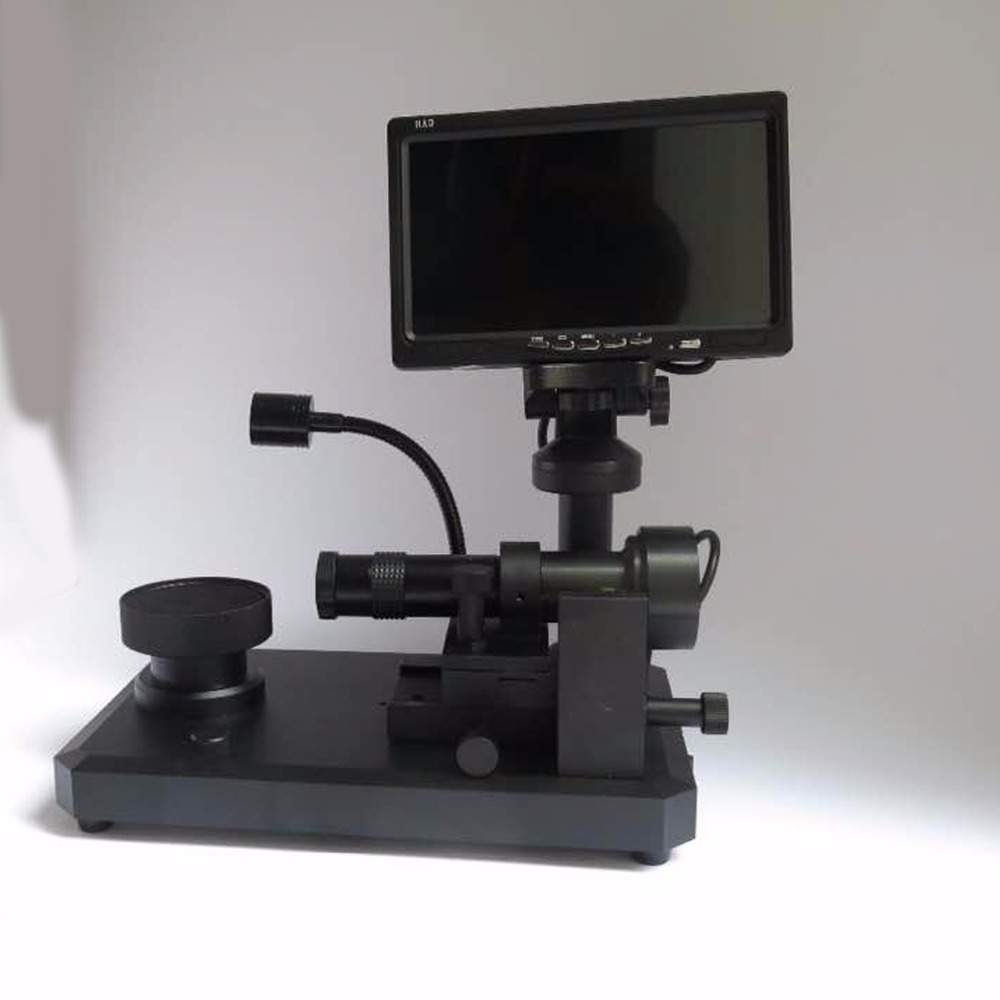 Digital Industry Video Microscope Camera Diamond Inscription Viewer with 7 LCD Screen Microscope