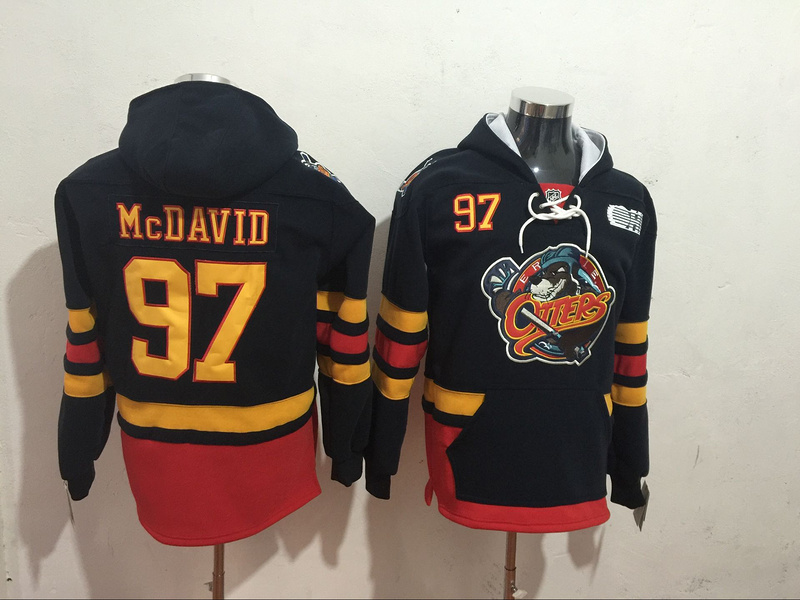 97 Connor McDavid Ice Hoodie Jersey College of the Beaver Hoodies Sweatshirts Stitched Men's Hockey Jersey Free Shipping брюки finn flare finn flare mp002xw0rssg
