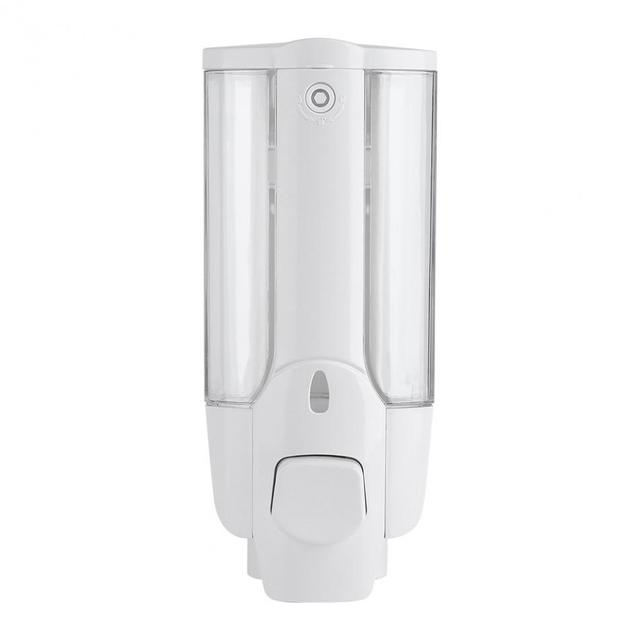Fdit 350ml Wall Mounted Hand Soap Dispenser Bathroom Kitchen