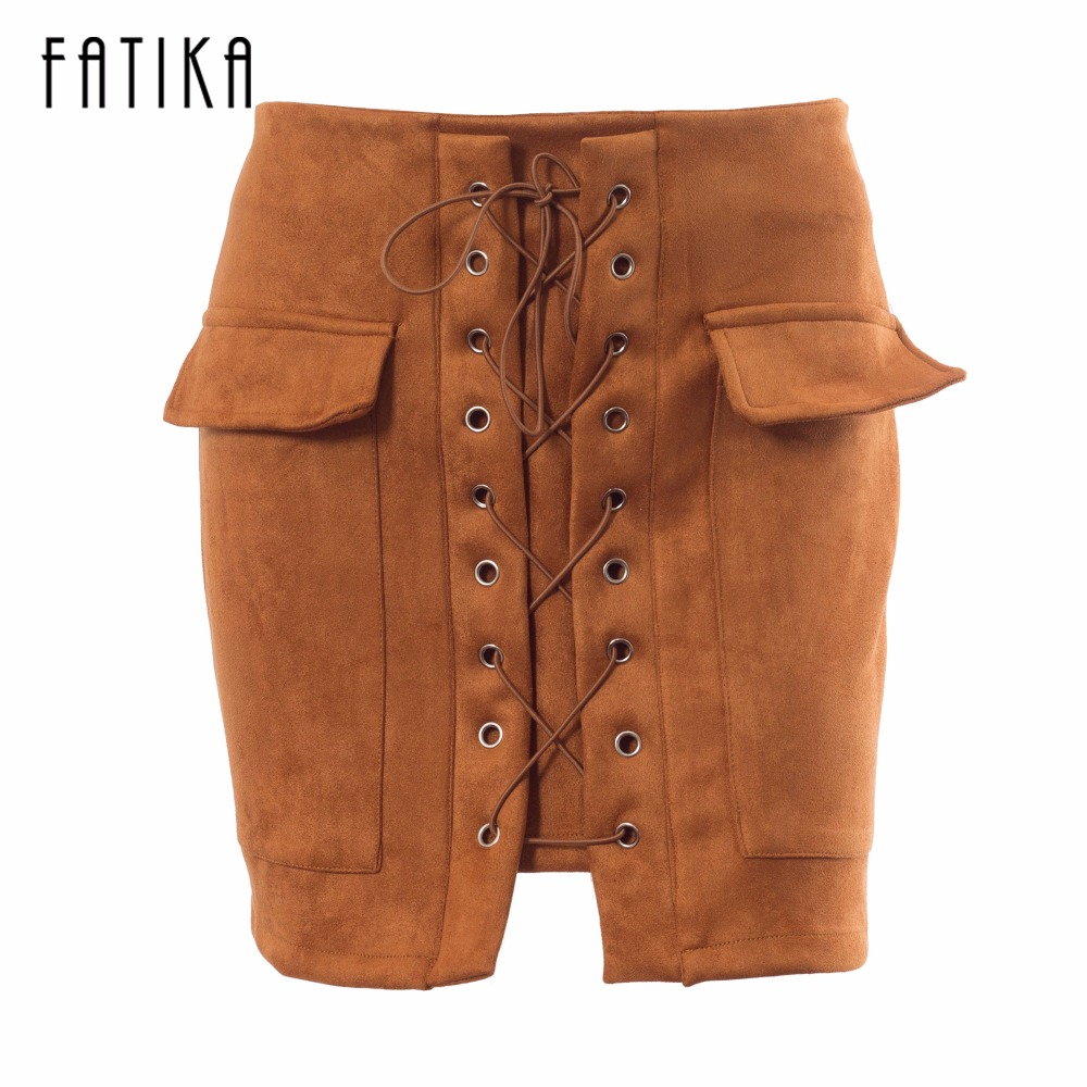 Popular Suede Skirt-Buy Cheap Suede Skirt lots from China Suede ...