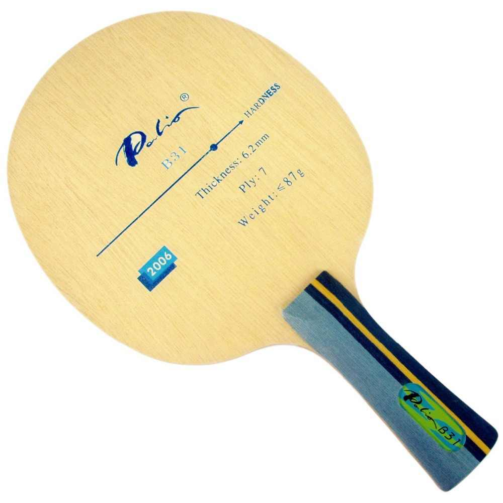 Palio  B31 (B 31  B-31) table tennis ( pingpong ) blade The new listing Factory Direct Selling