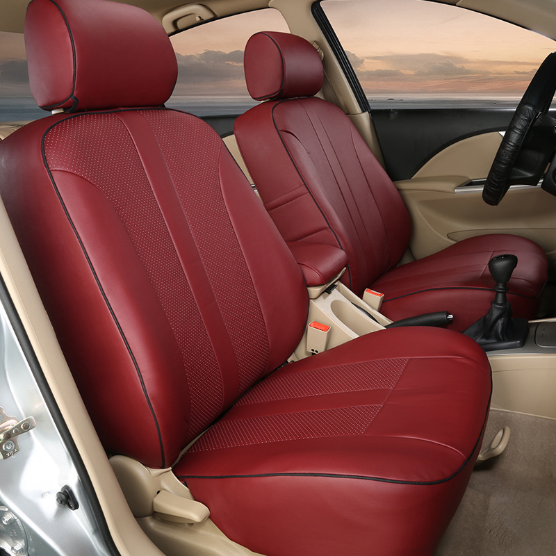 PU leather covers car for volvo S80 accessories seat covers sets seats pads covers for s80 2006 ...