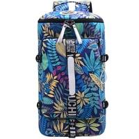 travel bag women weekend duffle bag travel Flower Printed canvas overnight men travel bags travel weekender reistas