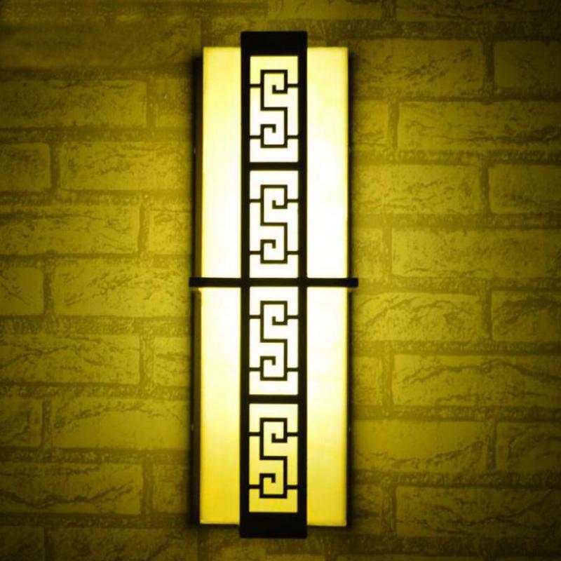 Couloir porche rétro mur LED lampe E27/T5 Fluorescent extérieur applique murale étanche luminaires muraux pour jardin couloir cour