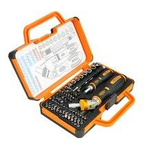 Jakemy JM-6111 69 en 1 destornillador de reparación de Hardware abrir herramientas de demolición dispositivos electrónicos de anteojos