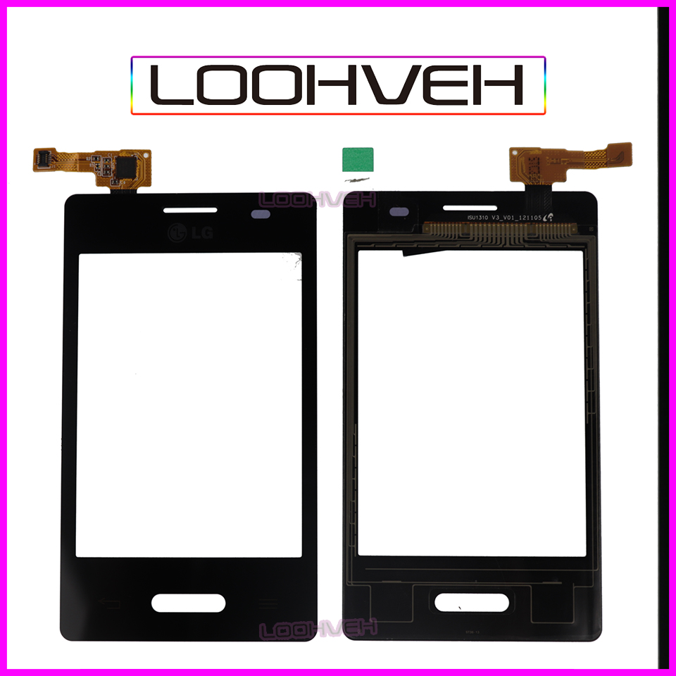 50Pcs/lot 3.2 Touch Screen For LG Optimus L3 II E430 E425 Digitizer Front Glass Lens Sensor Panel High Quality image
