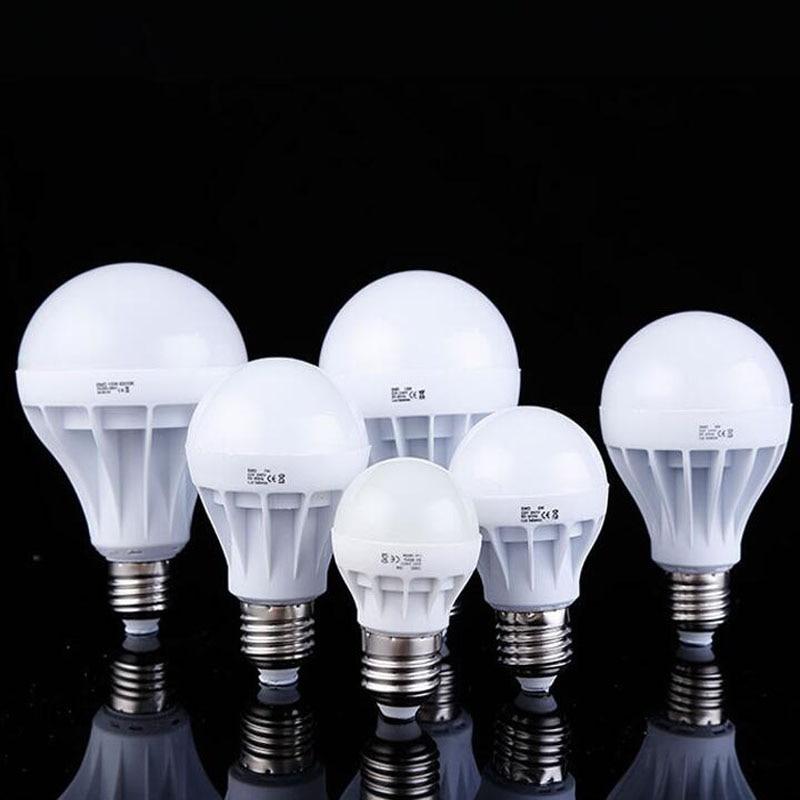 LED Bulb E27 E14 B22 5730SMD 3W 5W 7W 9W 12W 15W 20W LED Lamp 220V Cold White/warm White Light Bulb For Home Led Spotlight Lamps