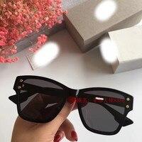 WC0793 2018 роскошные взлетно посадочной полосы Солнцезащитные очки женские брендовые дизайнерские солнцезащитные очки для женщин Картер очки