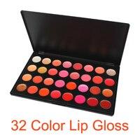 Cosmetic 32 Color Gorgeous Lip Gloss Makeup Palette Set Moisturizing Lip Balm Genuine Lasting Glossy High Quality Lipsticks