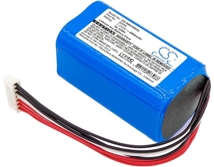 Batterie pour Sony ID659 6800mAh / 50.32Wh batterie haut-parleur