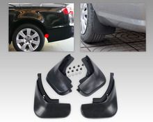 Dwcx 4 Stuks Spatlappen Flap Splash Guards Spatbord Inclusief Schroeven Voor Audi A6L A6 C6 Sedan 2006 2007 2008 2009 2010 2011 2012 +