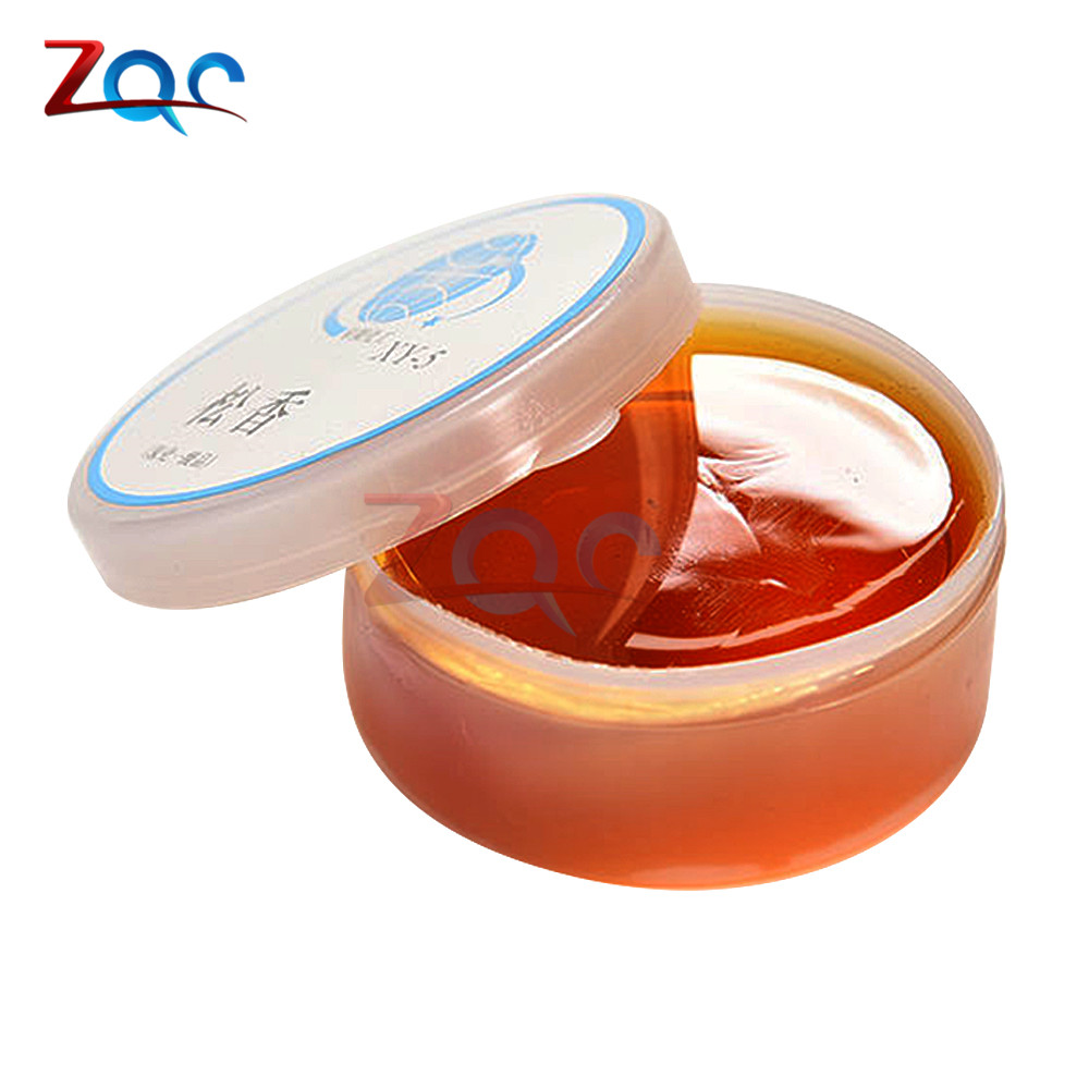 20g Repair Durability Rosin Soldering Flux Paste Solder Welding Grease Cream for Phone PCB Teaching Resources Solid Pure mechanic soldering flux welding paste tin cream sn63 pb37 for bga reball stencil for iphone samsung chip ic repair