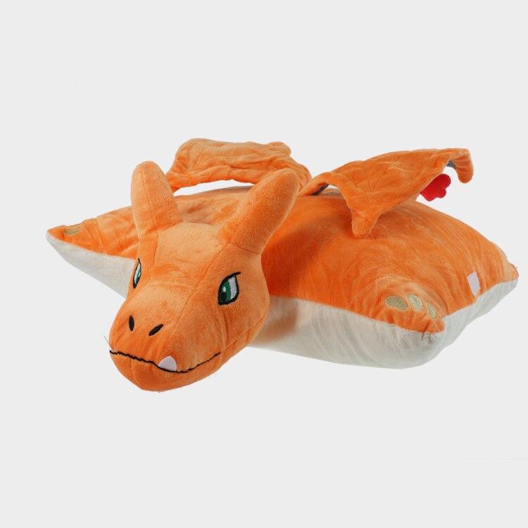 Cute Anime Charizard Plush Pillow 40*35cm soft cushion Charizard Dolls For kids