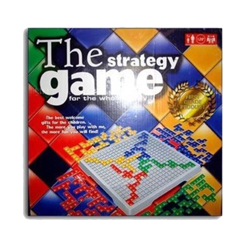 blokus board game 4 players family kids strategy game