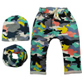 New 2017 Spring and Autumn Kids Clothing Boys Girls Harem Pants with Camo Print Cotton Trousers Baby Pants