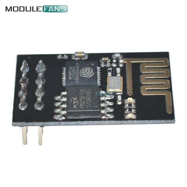 5 piezas ESP8266 ESP-01 ESP01 serie inalámbrico para Arduino transceptor receptor para Arduino Raspberry Pi 3 módulo WIFI