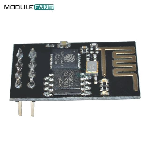 5PCS ESP8266 ESP-01 ESP01 Serial Wireless For Arduino Transceiver Receiver Board For Arduino Raspberry Pi 3 WIFI Module