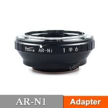 AR-N1 Adapter for  AR Lens to  N1 V1 J1 J2 J3 J4 Mirrorless Camera mirrorless 50mm f1 8 c mount lens for aps c camera m4 3 fx eosm n1 p q m3 m2 x e1 x pro1 nex 7 nex 5 j3 v3 j2 v2 j1 v1