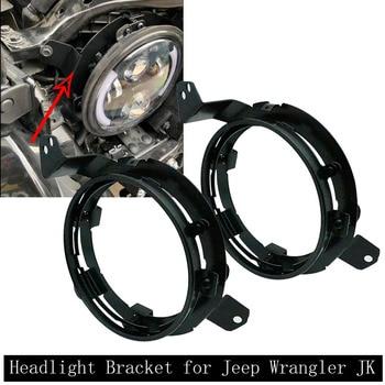 7 inch Round Headlight Mounting Bracket for Jeep Wrangler JL 2018 2019