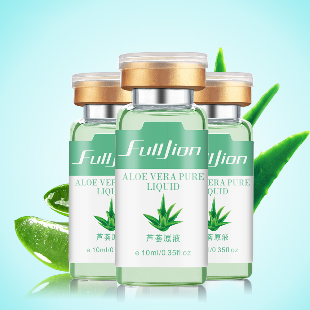 Natural Aloe Vera Gel Acne Treatment Moisturizing Skin Whitening Scar Removal Aloe Essence Facial Care Anti-Wrinkles TSLM1
