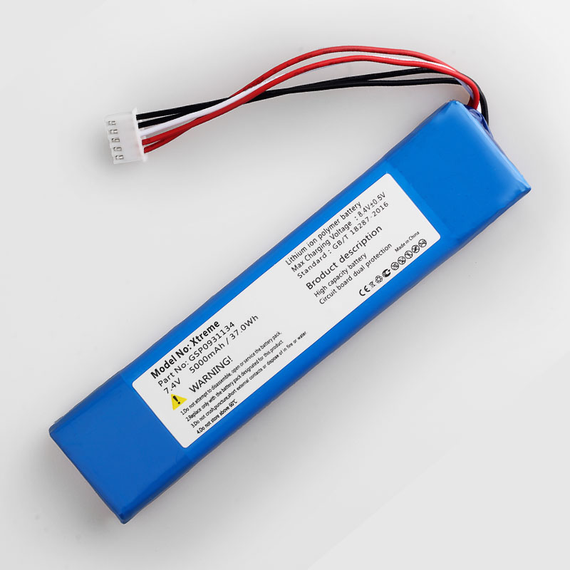 5000mah bateria para jbl xtreme xtreme gsp0931134 baterias 01