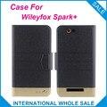 5 Cores! faísca + Wileyfox Caso de Negócios de Moda fecho Magnético, alta qualidade de Couro Exclusivo Capa Protetora Wileyfox Faísca +
