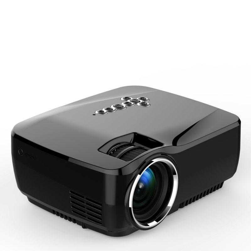 Prix pour Portable Mini Projecteur Bluetooth WIFI Simplebeamer Android4.4 Sans Fil Projecteur 1200 Lumens Dépasser 3D Projecteur GP70UP