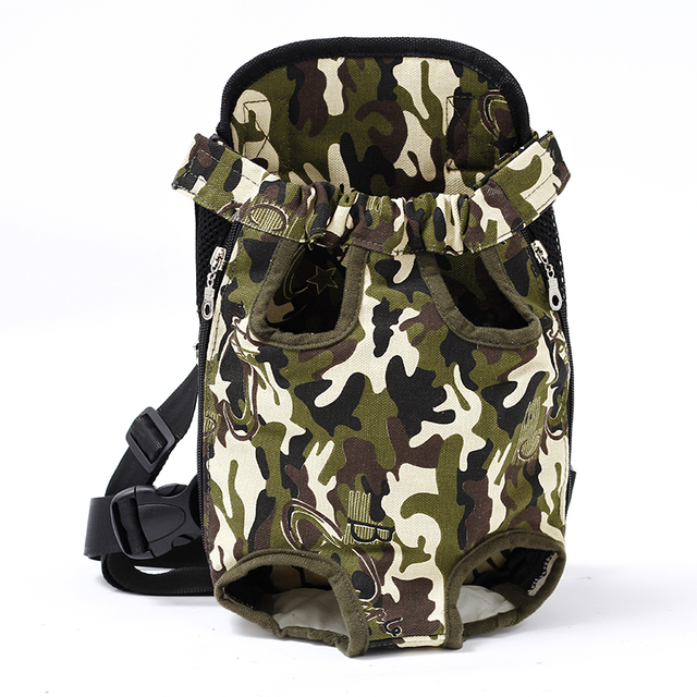 Pet Dog Carrier Backpack Mesh Camouflage Outdoor Travel Products Breathable Shoulder Handle Bags for Small Dog Cats Chihuahua  4