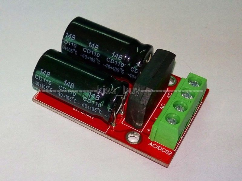 AC-DC Power Supply Module Input 5V-35V To 5V-45V Regulated Rectifier 3A Peak 5A