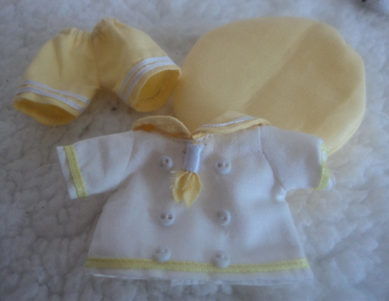 holala clothes set yellow