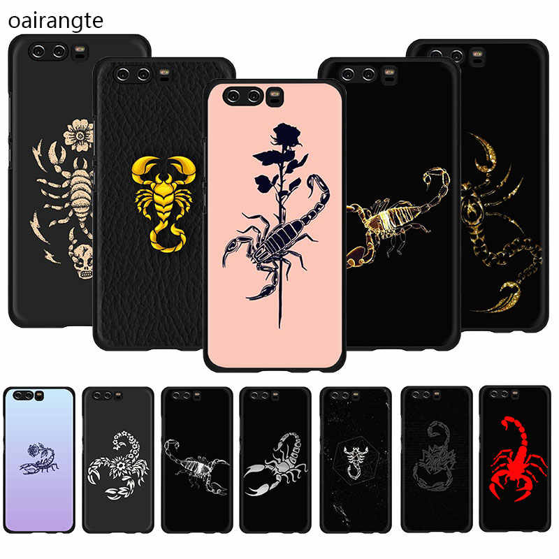 Animal cangrejo escorpión funda de móvil suave de TPU funda para Huawei Honor 20 6A 7A Pro 7C 7X 8X 8C 8 9 10 Lite