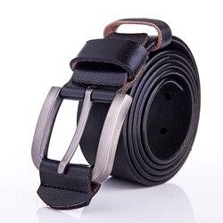 Hommes ceintures de haute qualité Designer en cuir véritable Ceinture de mode sangle mâle peau de vache ceintures pour hommes Cintos Ceinture Homme Luxe Marque